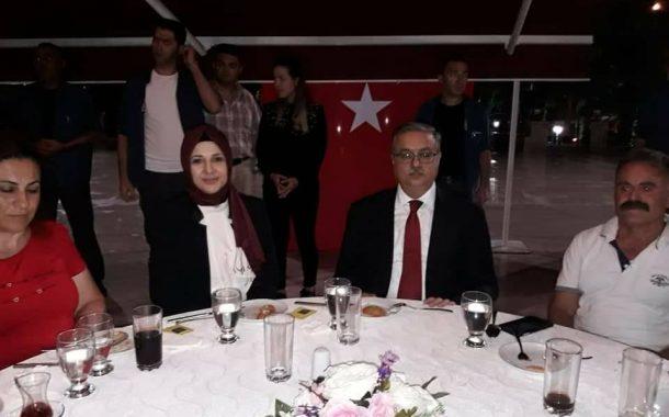 Mersin Valiliği Tarafından Şehit ve Gazi Ailelerine Verilen İftar Yemeğine katıldık.