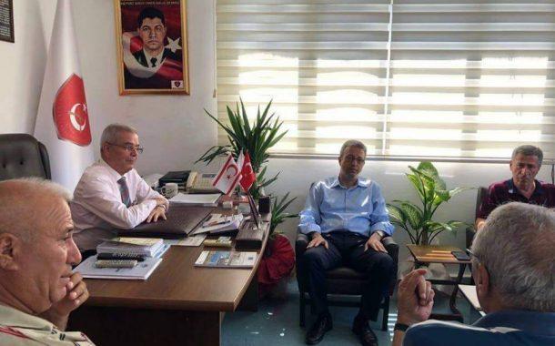Mersin C.H.P. 2. Sıra Milletvekili Adayı Av. Sn. Alpay ANTMEN Mersin İl Başkanlığımızı ziyaret etti