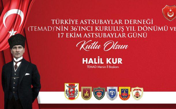 Türkiye Emekli Astsubaylar Derneğinin kuruluşunun 36 ncı yıldönümü ve Astsubaylar Günü kutlamaları